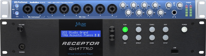 RECEPTOR: the Ultimate Synth / Sampler - Play VST plug-ins LIVE with the RECEPTOR Hardware plug-in Player.
